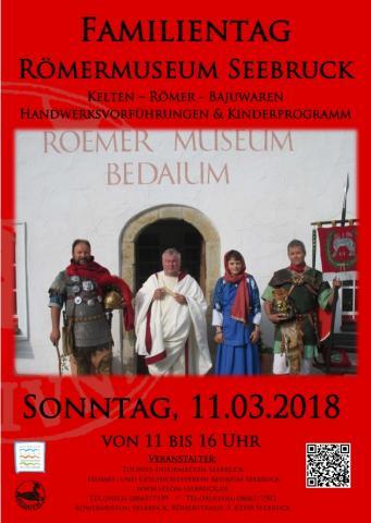Familientag 2018 im Römermuseum Bedaium